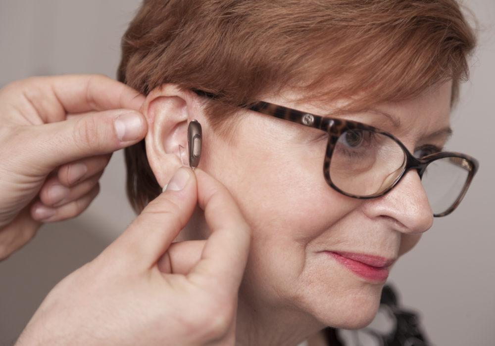 Aide auditive discrète